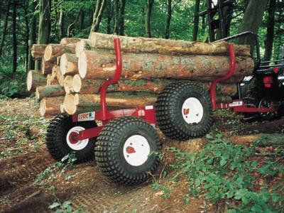 Logic THT400 Timber Trailer Tandem Axle
