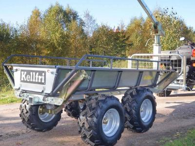Kellfri Tipping and Forestry Trailer