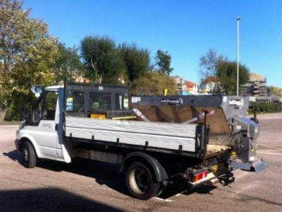 Winter Maintenance: Stainless Steel Gritters