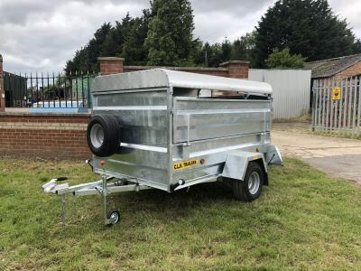 CLH 7FT X 4FT 6 Livestock Trailer